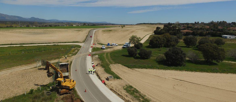 Ampliación de bermas carretera de presa Cazalegas