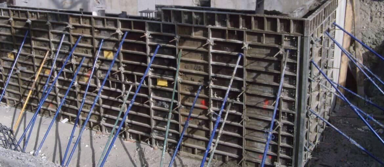 Estructura para almacenamiento de plásticos en Lafarge