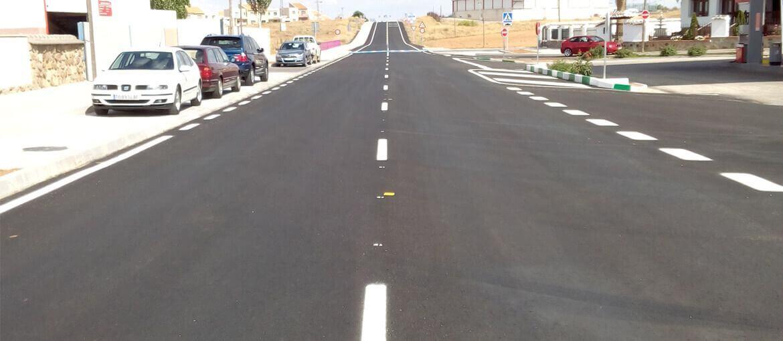 Urbanización de travesía, en Nambroca