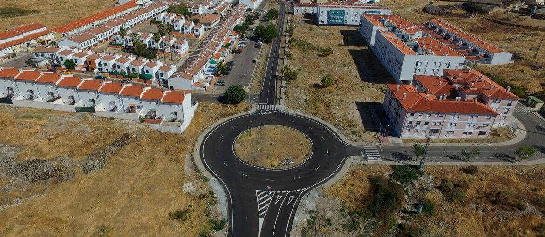 Trujillo (Cáceres). Acondicionamiento de la carretera Trujillo-Ruanes